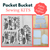 Pocket Bucket Sewing *KITS*