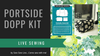 Portside Travel Set by Grainline Studio