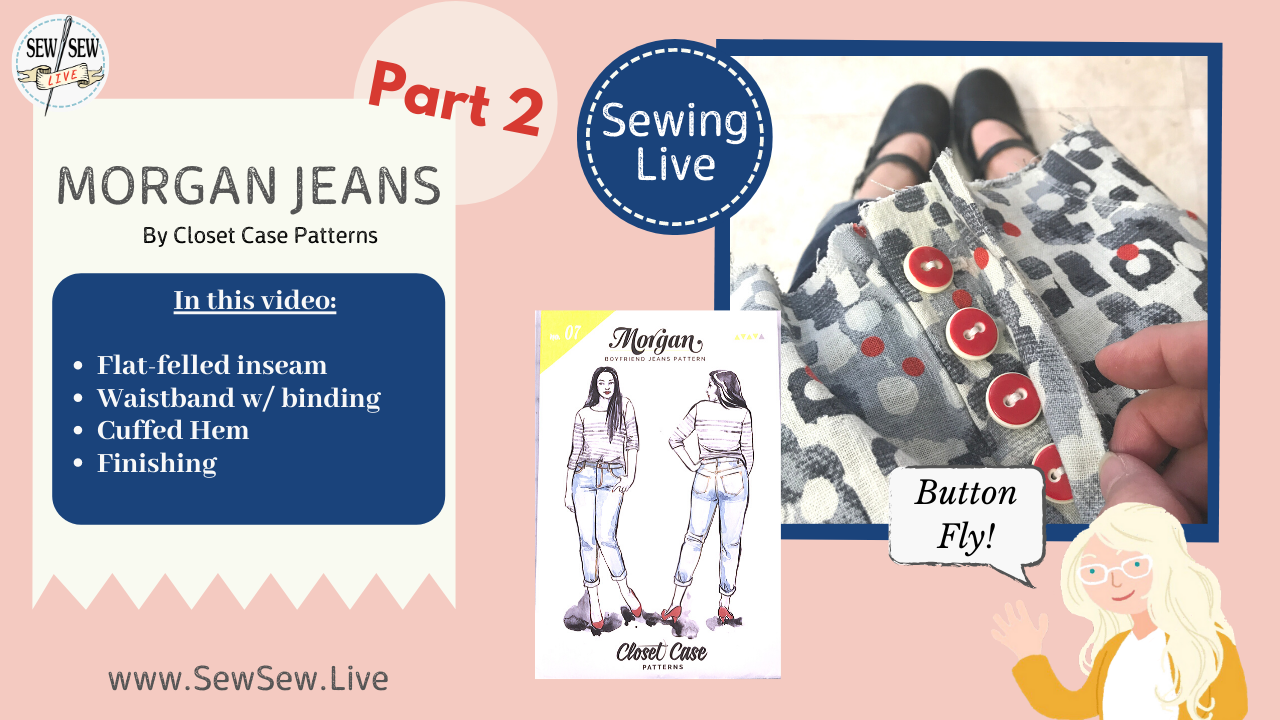 Morgan Jeans by Closet Case Patterns