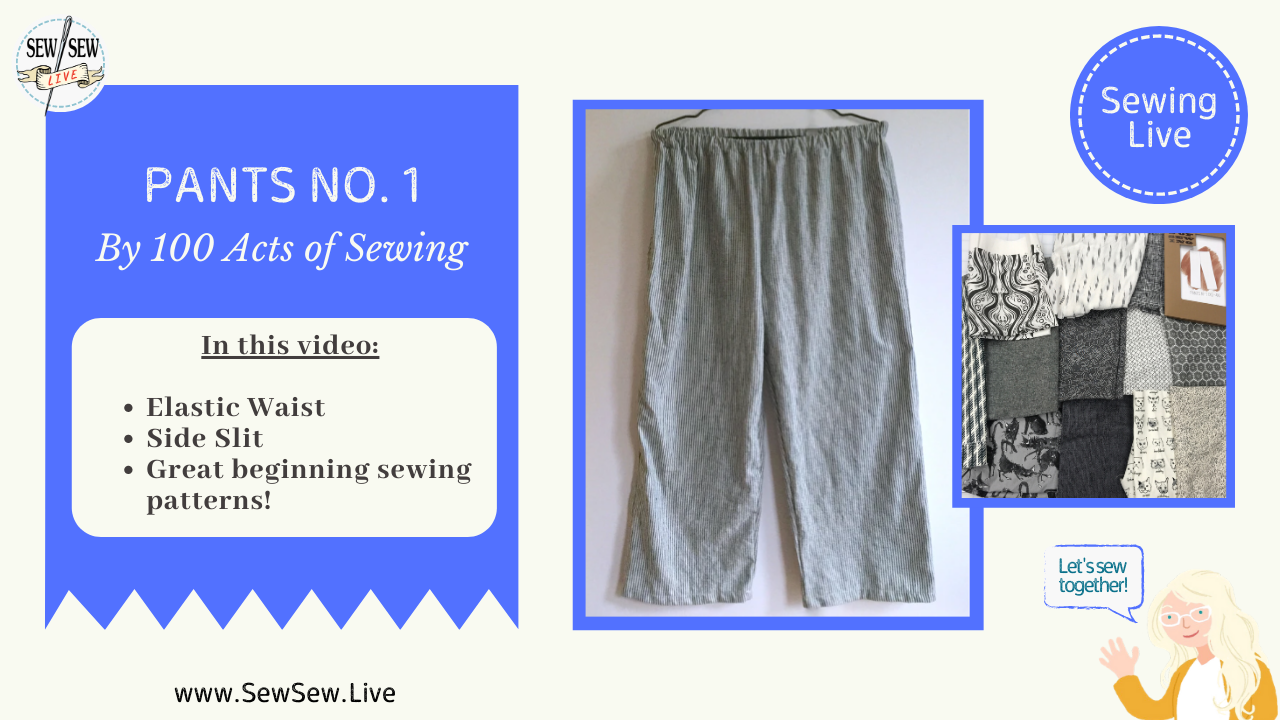 Pants No. 1 by 100 Acts of Sewing