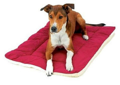 Classic Sleep Ezz Dog Crate Pad - Medium/Burgundy