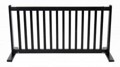 Free Standing Pet Gate - Large/Black
