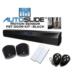AutoSlide Ultimate Patio Pet Door - Black