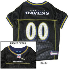 Baltimore Ravens NFL Dog Jersey - Medium