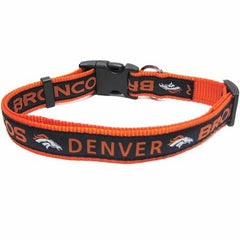 Denver Broncos NFL Dog Collar - Large
