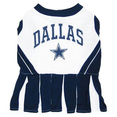 Dallas Cowboys NFL Dog Cheerleader Outfit - Small