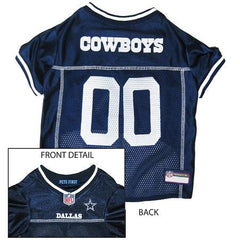 Dallas Cowboys NFL Dog Jersey - Large