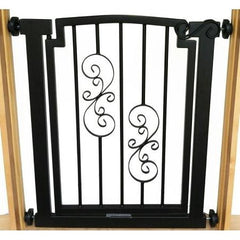 Noblesse Doorway Dog Gate - Mocha