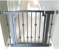 Emperor Rings Hallway Dog Gate - Mocha
