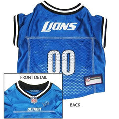 Detroit Lions NFL Dog Jersey - Small