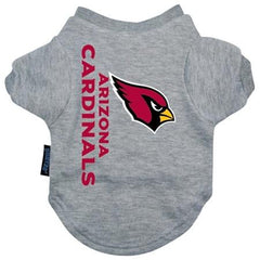 Arizona Cardinals Dog Tee Shirt - Medium
