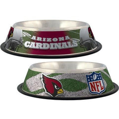 Arizona Cardinals Dog Bowl - Stainless