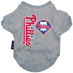 Philadelphia Phillies Dog Tee Shirt - Extra Large