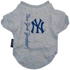 New York Yankees Dog Tee Shirt - Medium