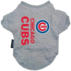 Chicago Cubs Dog Tee Shirt - Medium