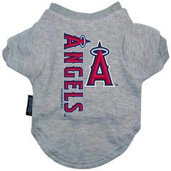Los Angeles Angels Dog Tee Shirt - Small