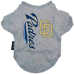 San Diego Padres Dog Tee Shirt - Large