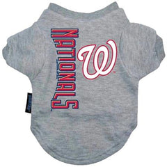 Washington Nationals Dog Tee Shirt - Extra Large