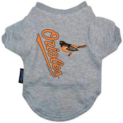 Baltimore Orioles Dog Tee Shirt - Small