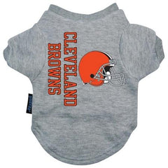 Cleveland Browns Dog Tee Shirt - Large