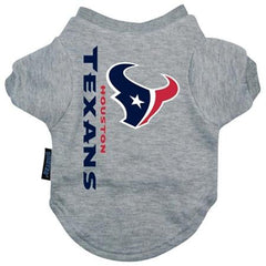 Houston Texans Dog Tee Shirt - Small