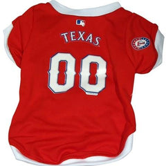 Texas Rangers Dog Jersey - Medium