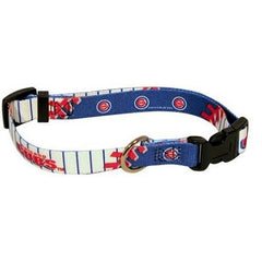 Chicago Cubs Dog Collar - Small