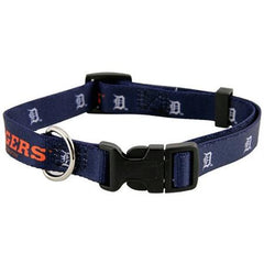 Detroit Tigers Dog Collar - Large