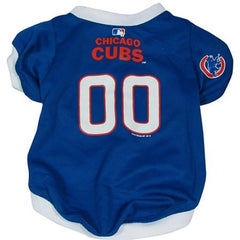 Chicago Cubs Dog Jersey - Medium