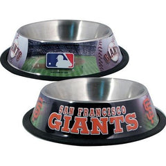 San Francisco Giants Stainless Dog Bowl