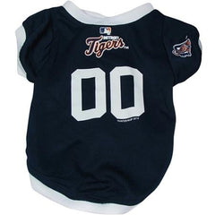 Detroit Tigers Dog Jersey - Medium