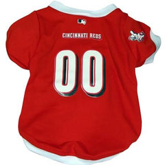 Cincinnati Reds Dog Jersey - Extra Large