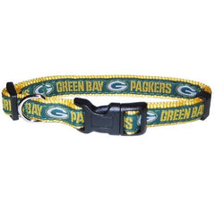 Green Bay Packers NFL Dog Collar - Medium