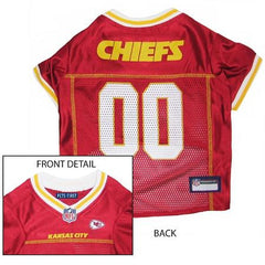 Kansas City Chiefs NFL Dog Jersey - Small