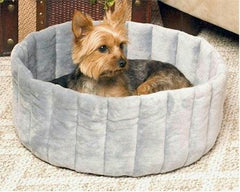 Kitty Cup Pet Bed - Large/Gray