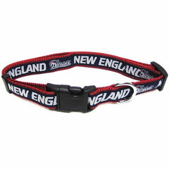 New England Patriots NFL Dog Collar - Medium