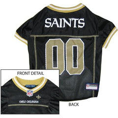 New Orleans Saints NFL Dog Jersey - Small