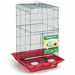 Clean Life Tall Bird Cage - White