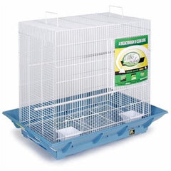 Clean Life Flight Cage - Blue & White
