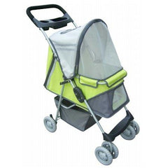 Sport Pet Stroller - Lime Green