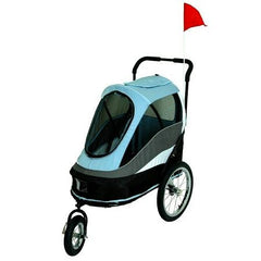 Happy Trailer Pet Stroller - Blue