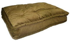 Pillow Top Pet Bed - Extra Large/Coffee