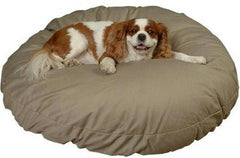 Round Pillow Bed - Medium/Khaki
