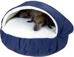Orthopedic Cozy Cave - Small/ Navy