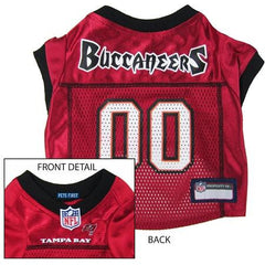 Tampa Bay Buccaneers NFL Dog Jersey - Extra Small