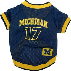 Michigan Wolverines Jersey Large