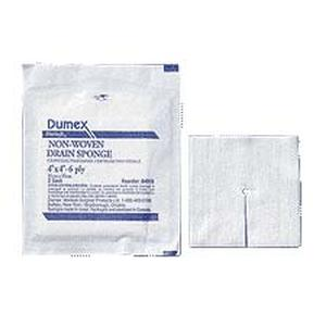 "Derma Sciences DuSoft® Non-Woven Tracheotomy/Drain Sponge, 6-Ply, 4"" x 4"""