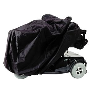 "Homecare Products Scooter and Power Chair Cover 50"" x 22"" x 33"" Black, Nylon, Elasticized Reinforced Seams"