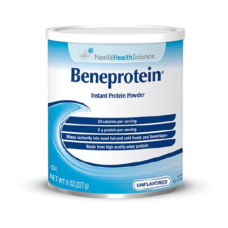 Protein Supplement Beneprotein® Unflavored 8 oz. Canister Powder
