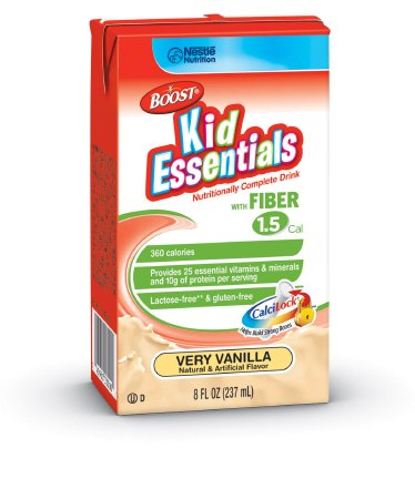 BOOST® KID ESSENTIALS™ 1.5 with Fiber Very Vanilla 8 oz. Tetra Brik® Ready to Use